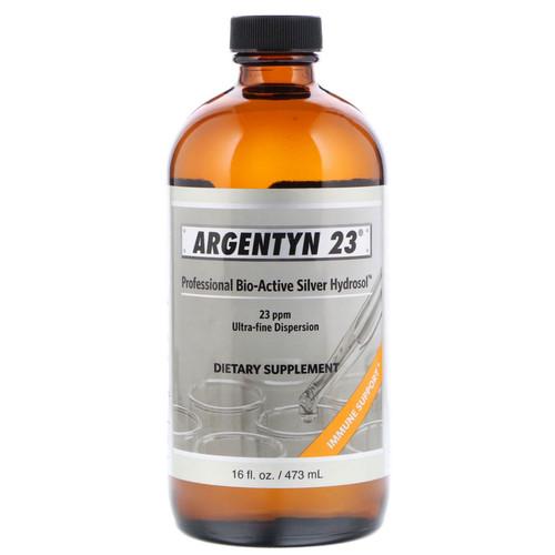 Argentyn 23, Professional Bio-Active Silver Hydrosol, 16 fl oz, bottle