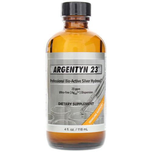 Argentyn 23, Professional Bio-Active Silver Hydrosol, 4 fl oz, bottle
