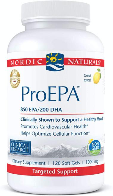 Nordic Naturals ProEPA 1000 mg, 120 Soft Gels