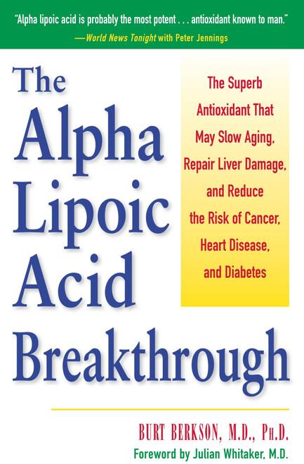 The Alpha Lipoic Acid Breakthrough, cover