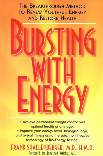 Bursting with Energy, cover