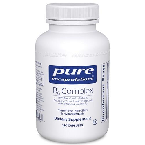 Pure Encapsulations B6 Complex, 120 Capsules, bottle