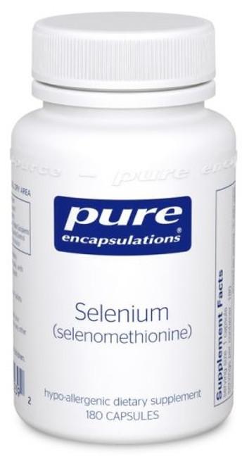 Pure Encapsulations Selenium (Selenomethionine), 180 Capsules, bottle