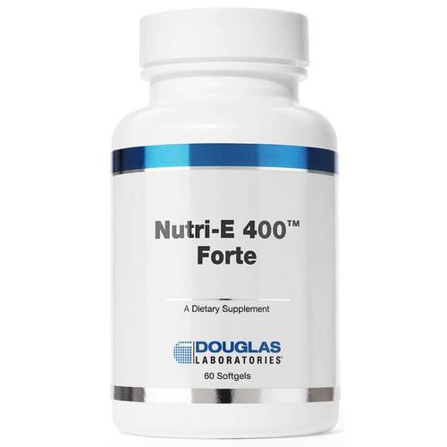 Douglas Laboratories Nutri-E 400 Forte, 60 Softgels, bottle