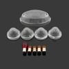 TailLight Turn Signals Indicators Lens Bulbs Set Triumph Bonneville SE T100, Clear