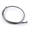 "19"" 50cm Brake Line Oil Hose Banjo Fitting Stainless Steel End"