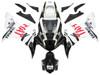 Fairings Yamaha YZF-R1 Black White No.46 FIAT Racing (2002-2003)