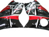 Fairings Suzuki GSX1300 Hayabusa Black & Red Hayabusa  Racing  (1999-2007)