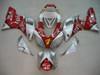 Fairings Yamaha YZF-R1 Red Silver No.7 Fortuna Racing (1998-1999)