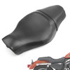 Front Rear Seat Two up Harley Davidson Forty-eight (10-16) Seventy-two (12-16) Sportster 1200 883 models, Black 52000211