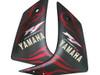 Fairings Yamaha YZF-R1 Black Matte & Red Flame R1 Racing (2007-2008)