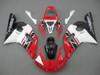 Fairings Yamaha YZF-R6 Red White Black R6 Racing (1998-2002)