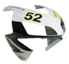 Fairings Honda CBR 600 RR No.52 Hannspree Racing (2003-2004)