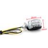 LED Micro Mini Small Indicators Turn Signals Universal 6mm Mount