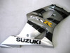 Fairings Suzuki GSXR 1000 Silver & Black GSXR Racing  (2003-2004)
