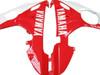 Fairings Yamaha YZF-R6 Red White Black R6 Racing (2003-2005)