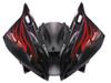 Fairings Yamaha YZF-R6 Black & Red Flame R6 Racing (2006-2007)