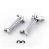 Front Footpegs Footrests Brackets Set Yamaha YZF R1 (07-08)