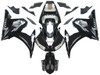 Fairings Yamaha YZF-R6 Black  R6 Racing (2003-2005)