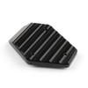Kickstand Foot Side Stand Enlarger Plate Pad Ducati Monster 795 796 821 1200, Black