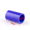 Straight 0 Degree 76mm 40mm Silicone Pipe Hose Coupler Intercooler Turbo Intake