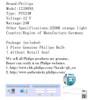Philips Standard 12188NA PSY24W Amber 24W One Bulb Halogen Drive DRL Fog Lamp