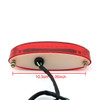 Tail Light LED License Tag illumination Running Universal Fit, Red
