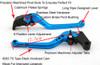 Standard Staff Length Adjustable Brake Clutch Levers Honda CBR900RR 1993-1999