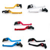 Standard Staff Length Adjustable Brake Clutch Levers Yamaha FJ09 FJ-09 MT09-Tracer 2015-2017 (F-16/Y-688)