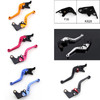 Shorty Adjustable Brake Clutch Levers Kawasaki ZX636R ZX6RR 2005-2006