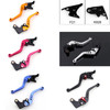 Shorty Adjustable Brake Clutch Levers Kawasaki Z800 2013-2015