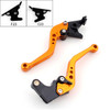 Shorty Adjustable Brake Clutch Levers Aprilia SHIVER Shiver-GT 2007-2015 (F-23/C-23)
