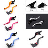 Shorty Adjustable Brake Clutch Levers Kawasaki GPZ500S EX500R NINJA 1990-2009 (F-14/K-750)