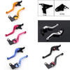 Shorty Adjustable Brake Clutch Levers Kawasaki NINJA 400R 2011 (F-44/K-750)