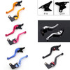 Shorty Adjustable Brake Clutch Levers Kawasaki ZX9 1994-1997 (F-14/C-777)