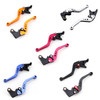 Shorty Adjustable Brake Clutch Levers Suzuki TL1000S 1997-2001