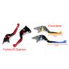 Staff Length Adjustable Brake Clutch Levers Kawasaki ZZR600 2005-2009