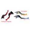 Staff Length Adjustable Brake Clutch Levers Kawasaki NINJA 300R Z300 /ABS  2013-2017 (F-25/K-25)