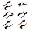 Staff Length Adjustable Brake Clutch Levers Kawasaki Z1000 2003-2006