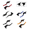 Staff Length Adjustable Brake Clutch Levers Triumph Trophy Trophy-SE 2013-2017 (F-14/C-777)