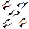 Staff Length Adjustable Brake Clutch Levers Kawasaki ZX1400 ZX14R ZZR1400 2006-2017 (F-88/H-88)