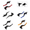 Staff Length Adjustable Brake Clutch Levers Kawasaki ER6N ER6F 2009-2016 (F-44/K-750)