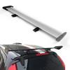 Universal Hatch Adjustable Aluminum GT Rear Trunk Wing Racing Spoiler, Silver 13