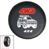 """16"""" Car Spare Wheel Tire Bag Tyre storage Soft Cover 4WD Universal"""