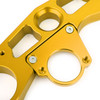 Lowering Triple Tree Front End Upper Top Clamp Kawasaki ZX6R (2009-2012) Gold