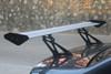 Universal Sedan Aluminum GT Rear Trunk Wing Racing Spoiler, Black