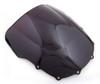 Windshield WindScreen Double Bubble For Kawasaki ZZR400 93-07 ZZR600 93-04, Black