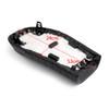 Flat Brat Styling Saddle Cafe Racer Seat Honda CB125S CB450, Black