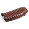 Flat Brat Styling Saddle Cafe Racer Seat Honda CB125S CB450, Brown