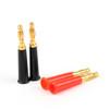 Mad Hornets 10PCS 4mm Banana Plug Binding Post Multimeter Probes Gold Plated